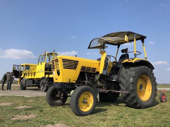 Zweefvliegclub Volkel startmiddelen Tractor